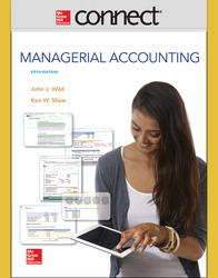 Connect 1 Semester Online Access for Managerial Accounting