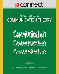 Connect Online Access for A First Look at Communication Theory