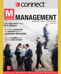 Connect 1 Semester Online Access for M: Management