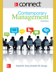 Connect 1 Semester Online Access for Contemporary Management