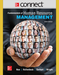 Connect 1 Semester Online Access for Fundamentals of Human Resource Management