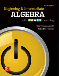 ALEKS 360 Online Access (52 weeks) for Beginning and Intermediate Algebra with P.O.W.E.R. Learning