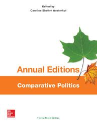 Annual Editions: Comparative Politics, 33/e