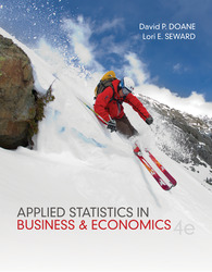 Loose Leaf Applied Statistics in Business and Economics with ALEKS Access Card, MegaStat for Excel 2007, 2010, 2013 Access Card