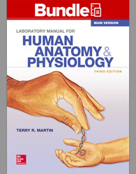 Combo: Lab Manual for Human Anatomy & Physiology, Main Version with Connect Access Card