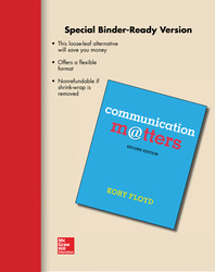 Looseleaf Communication Matters and Connect Access Card