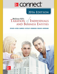 Connect 2-Semester Online Access for McGraw-Hill's Taxation of Individuals and Business Entities, 2016 Edition