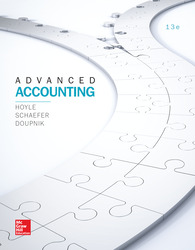 LooseLeaf for Advanced Accounting