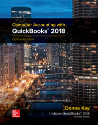 Computer Accounting with QuickBooks 2018