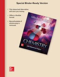 Loose Leaf for Chemistry: The Molecular Nature of Matter and Change with Advanced Topics
