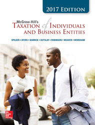 McGraw-Hill's Taxation of Individuals and Business Entities 2017 Edition, 8e