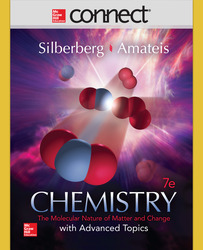 Connect 2 Semester Online Access for Chemistry: The Molecular Nature of Matter and Change With Advanced Topics
