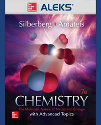 ALEKS 360 Online Access (1 Semester) for Chemistry: The Molecular Nature of Matter and Change with Advanced Topics