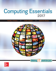Computing Essentials 2017