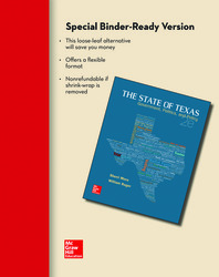 The State of Texas Loose Leaf Edition with Connect Access Card & Government in Action Access Card