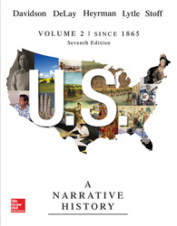 Loose Leaf Edition US: A Narrative History Volume 2 with Connect 1-Term Access Card