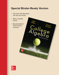 Loose Leaf Version for College Algebra
