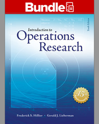 Package: Loose Leaf for Introduction to Operations Research with 1 Semester Connect Access Card