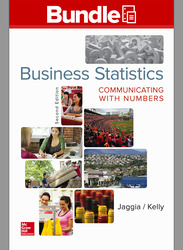 Loose Leaf Business Statistics: Communicating with Numbers with Connect