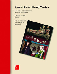 Loose Leaf Edition of The West in the World Volume 2 with Connect Access Card
