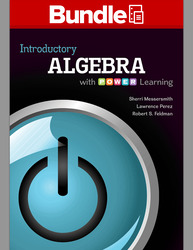 Loose Leaf Introductory Algebra with P.O.W.E.R, with ALEKS 360 52 Weeks Access Card