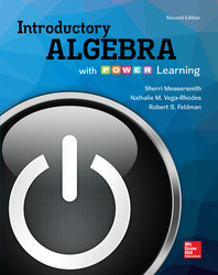 Introductory Algebra with P.O.W.E.R. Learning