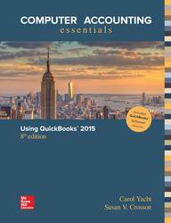 Computer Accounting Essentials Using QuickBooks 2015 QuickBooks Software