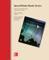 Loose Leaf for Traditions & Encounters Volume 2 with Connect 1-Term Access Card