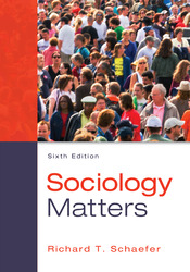 Loose Leaf for Sociology Matters with Connect Access Card
