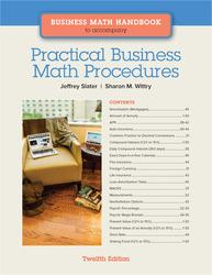 Business Math Handbook for Practical Business Math Procedures