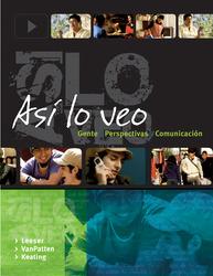 Asi lo veo: Gente, Persptectivas, Comunicacion with Quia WBLM and eBook Access Card