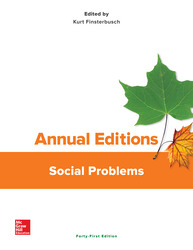 Annual Editions: Social Problems, 41/e