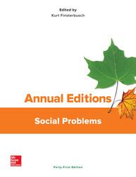 Annual Editions: Social Problems, 41/e