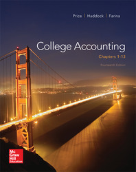College Accounting (Chapters 1-13) with Connect Access Card