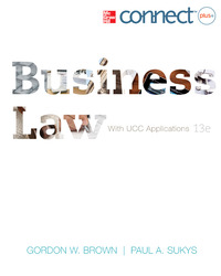 Business Law with UCC Applications Student Edition ; CNCT+