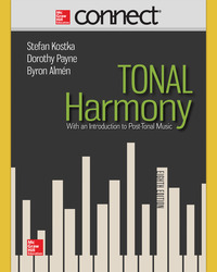 Connect Online Access for Tonal Harmony