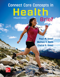 Connect Core Concepts in Health, BRIEF, Loose Leaf Edition 15th Edition