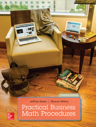 PRACTICAL BUSINESS MATH PROCEDURES WITH BUSINESS MATH HANDBOOK