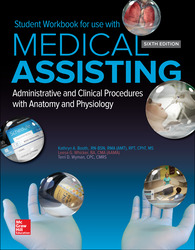Student Workbook for Medical Assisting: Administrative and Clinical Procedures
