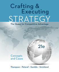 Crafting & Executing Strategy: The Quest for Competitive Advantage: Concepts and Cases 21st Edition