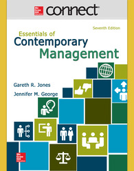 Connect 1-Semester Online Access for Essentials of Contemporary Management
