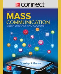 Connect Online Access for Introduction to Mass Communication: Media Literacy and Culture