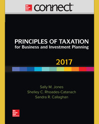 Connect Online Access for Principles of Taxation for Business and Investment Planning 2017 Ed, 20e