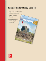 Looseleaf The Unfinished Nation Volume 1 with Connect 1-Term Access Card