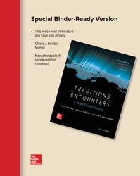 Looseleaf Traditions & Encounters: A Brief Global History Volume 2 with Connect 1-Term Access Card