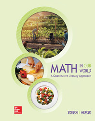 Math in Our World: A Quantitative Literacy Approach