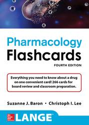 Lange Pharmacology Flashcards, Fourth Edition