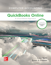 Computer Accounting with QuickBooks Online: A Cloud Based Approach 1st Edition (w/ QuickBooks Online Access)