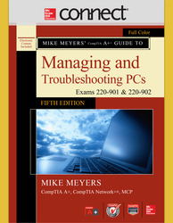 Connect Online Access for Mike Meyers' CompTIA A+ Guide to Managing and Troubleshooting PCs, Fifth Edition (Exams 220-901 and 902)