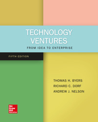 Technology Ventures From Idea To Enterprise Pdf